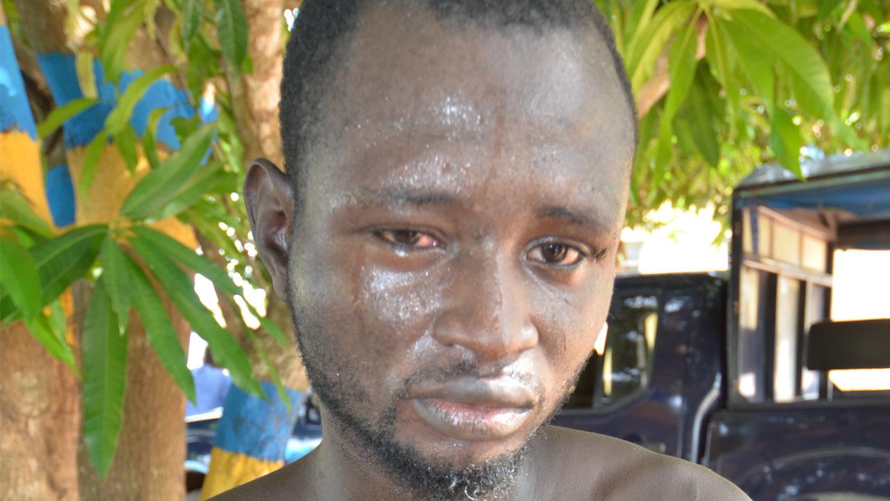 The suspect, Olayinka