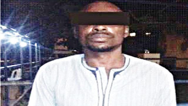 The suspect, Bamildele