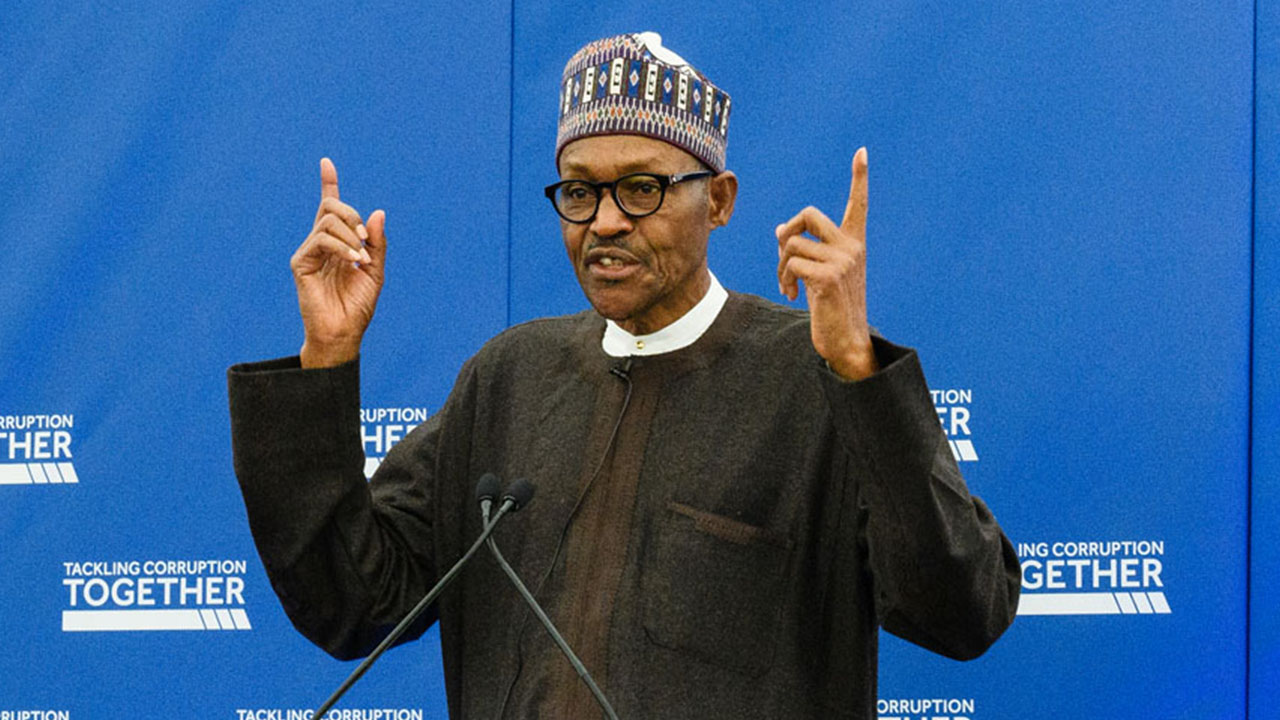 Image result for buhari and corruption