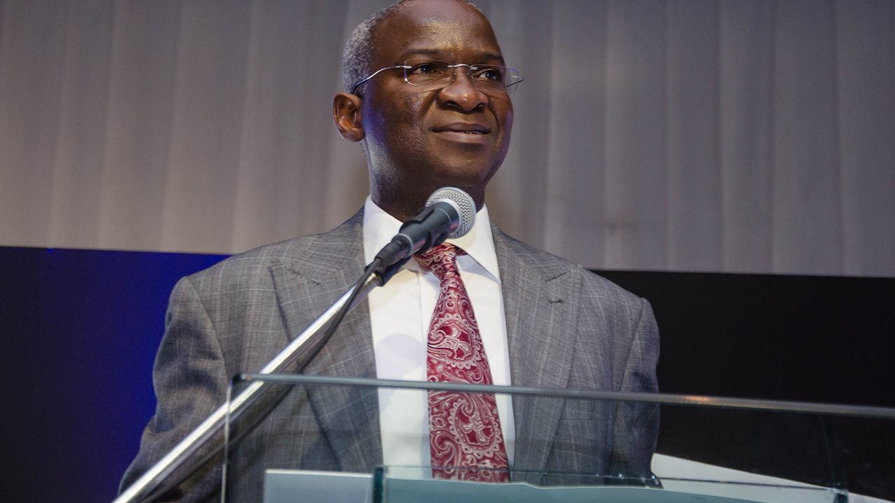 Mr Babatunde Fashola, Minister of Power, Works and Housing.
