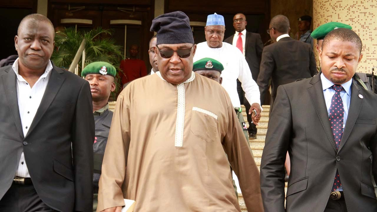 Badeh is facing to a 10-count charge the EFCC preferred against him following allegation that he diverted over N3.9 billion from salary accounts of the Nigerian Air Force (NAF) in 2013.