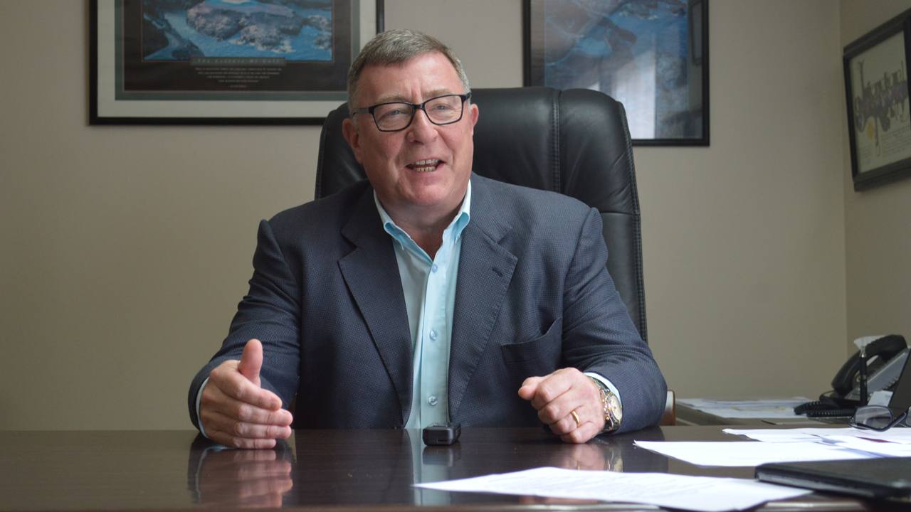 General Manager Starwood Hotels In Nigeria Mr Barry Curran