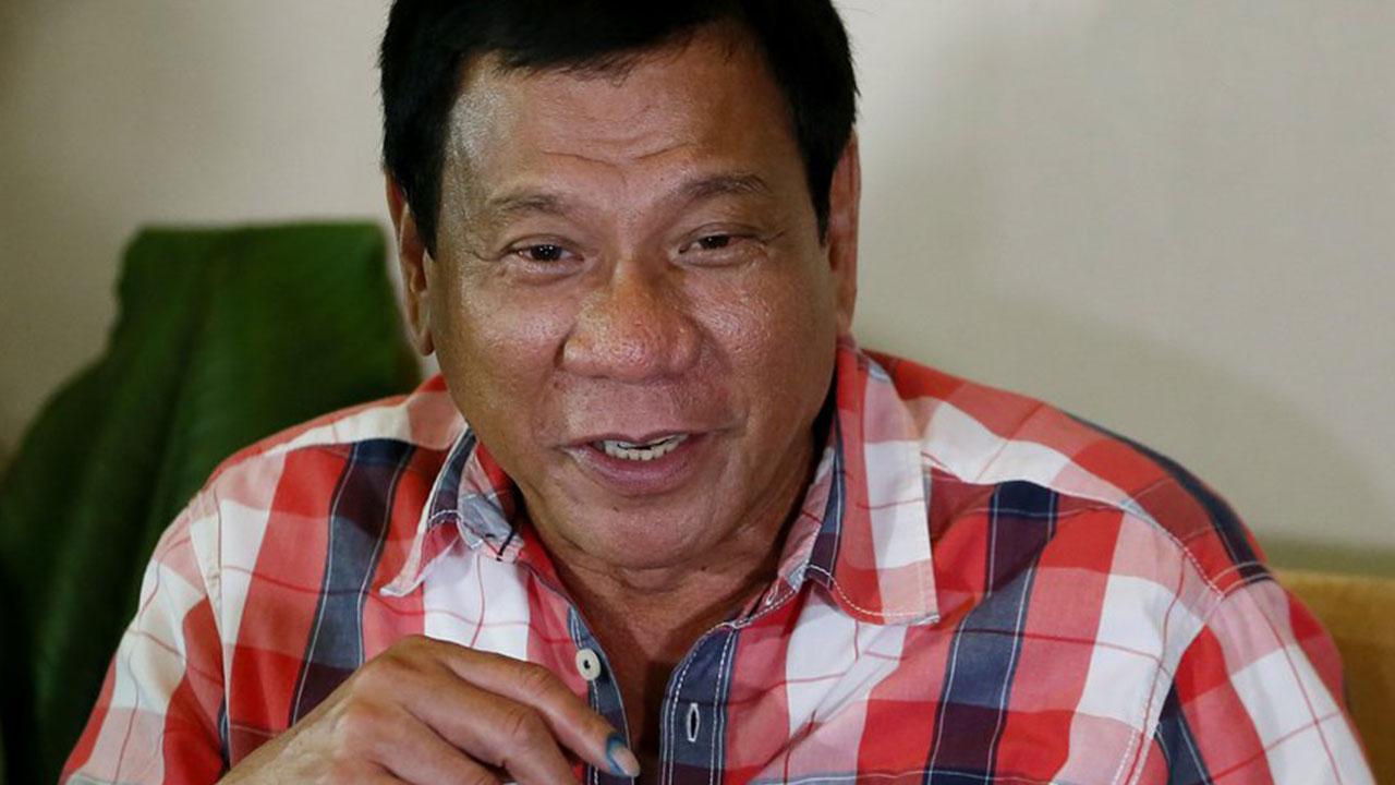 Philippine president-elect, Rodrigo Duterte