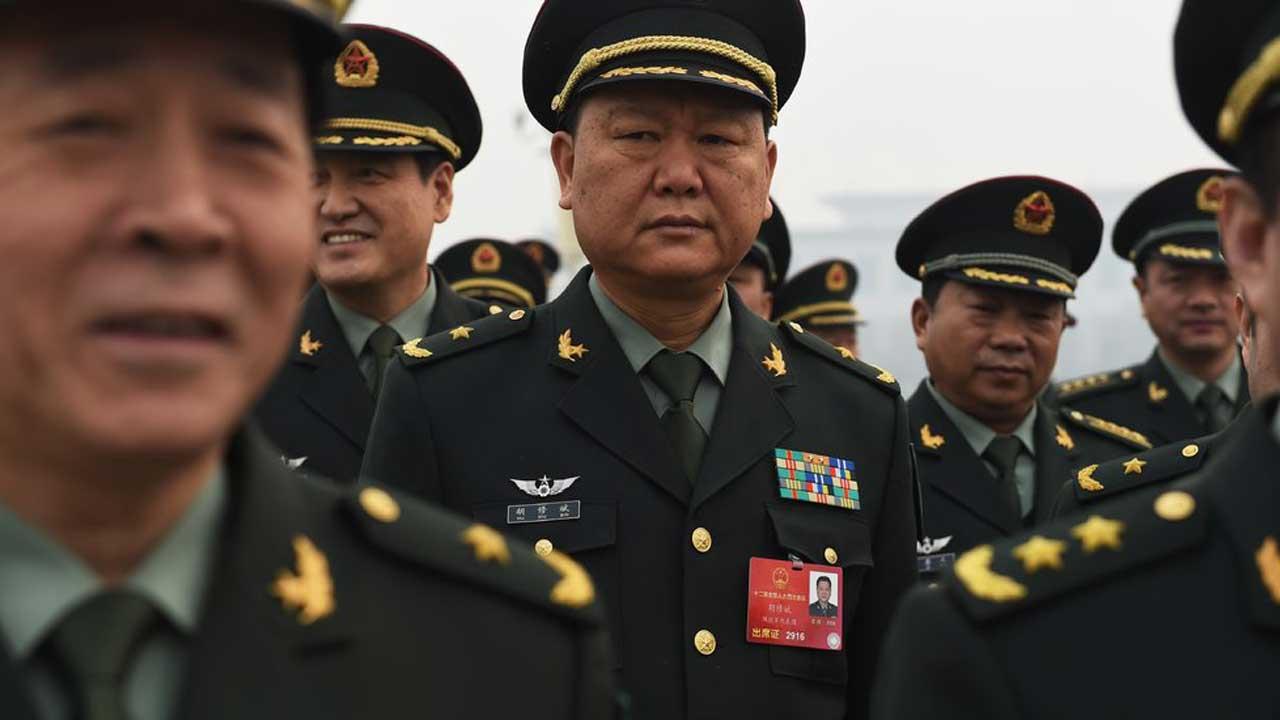 China Military. PHOTO: nytimes.com