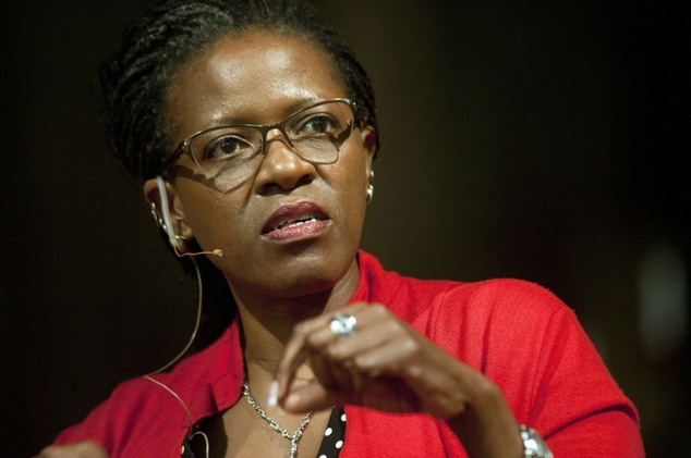 Desmond Tutu's daughter, the Reverend Canon Mpho Tutu-van Furth Rodger Bosch (AFP/File)