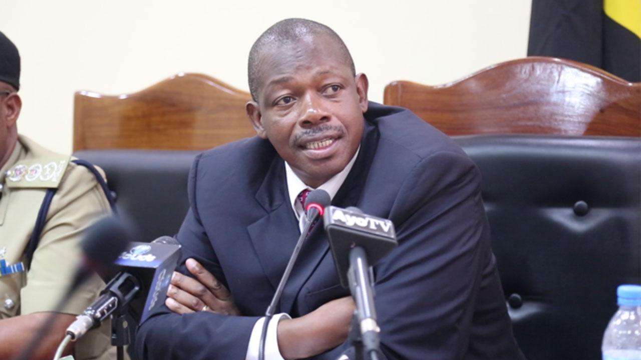 Home Affairs Minister Charles Kitwanga