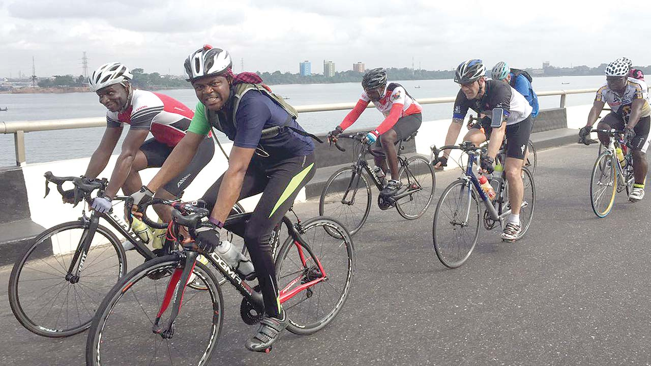 Members of the Cycology Club are getting ready for the first Criterium billed to hold at the Eko Atlantic…on May 30.