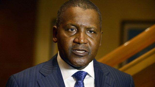 At WEF, Dangote canvasses tackling power deficit to improve economy