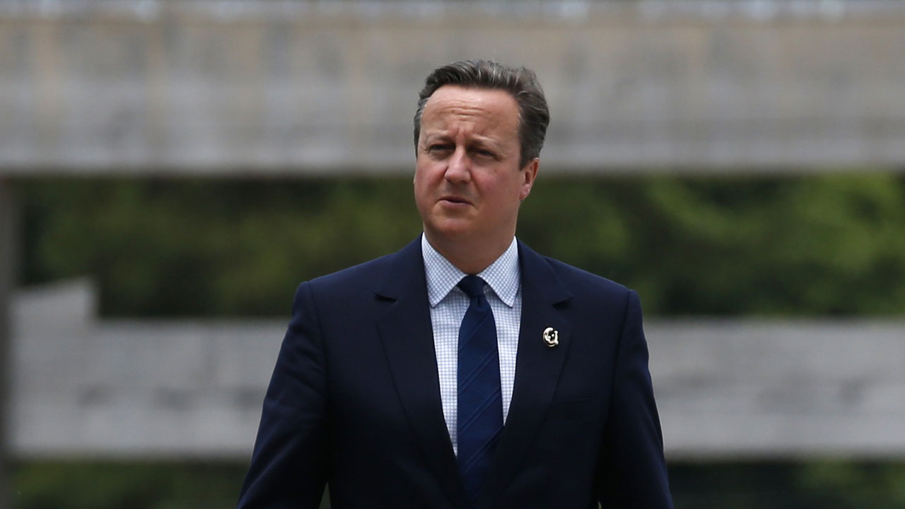 British Prime Minister David Cameron   / AFP PHOTO / POOL / TORU HANAI