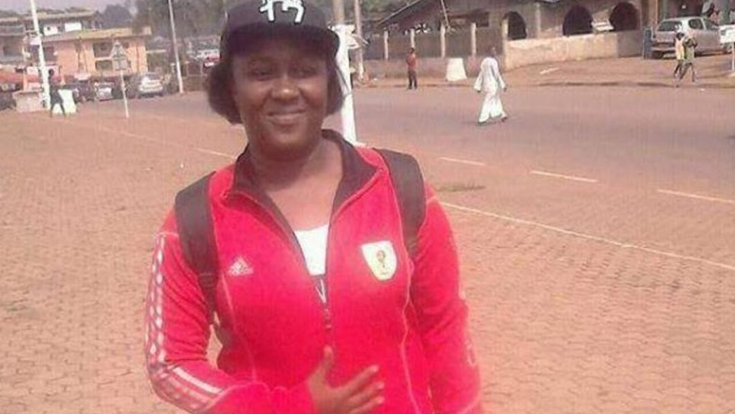 Jeanine Christelle Djomnang played for Femina Stars Ebolowa in Cameroon. PHOTO: BBC