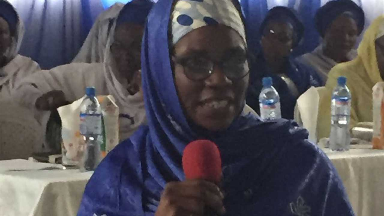 The Guest Speaker and a Medical Practitioner, Dr. Zainab Mustapha