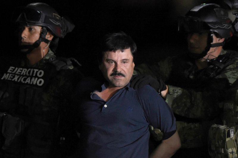 "Joaquin ""El Chapo"" Guzman's (AFP Photo/Alfredo Estrella)"