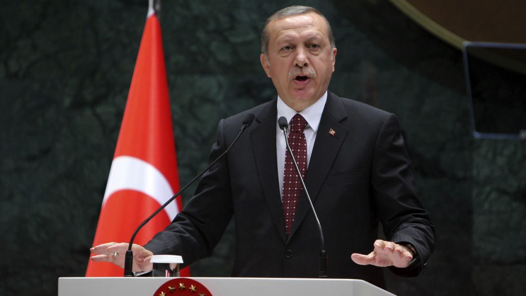 President of Turkey Recep Tayyip Erdogan.     AFP PHOTO / ADEM ALTAN