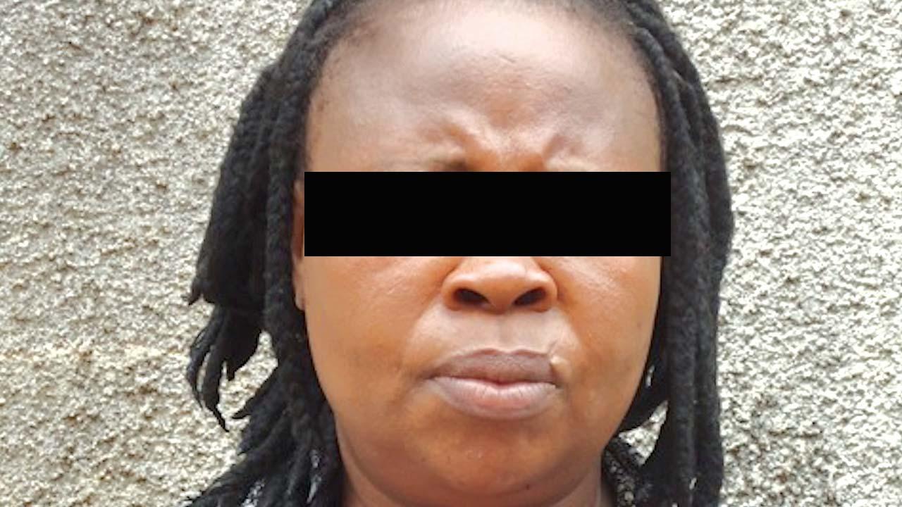 The suspect, Ndidiamaka