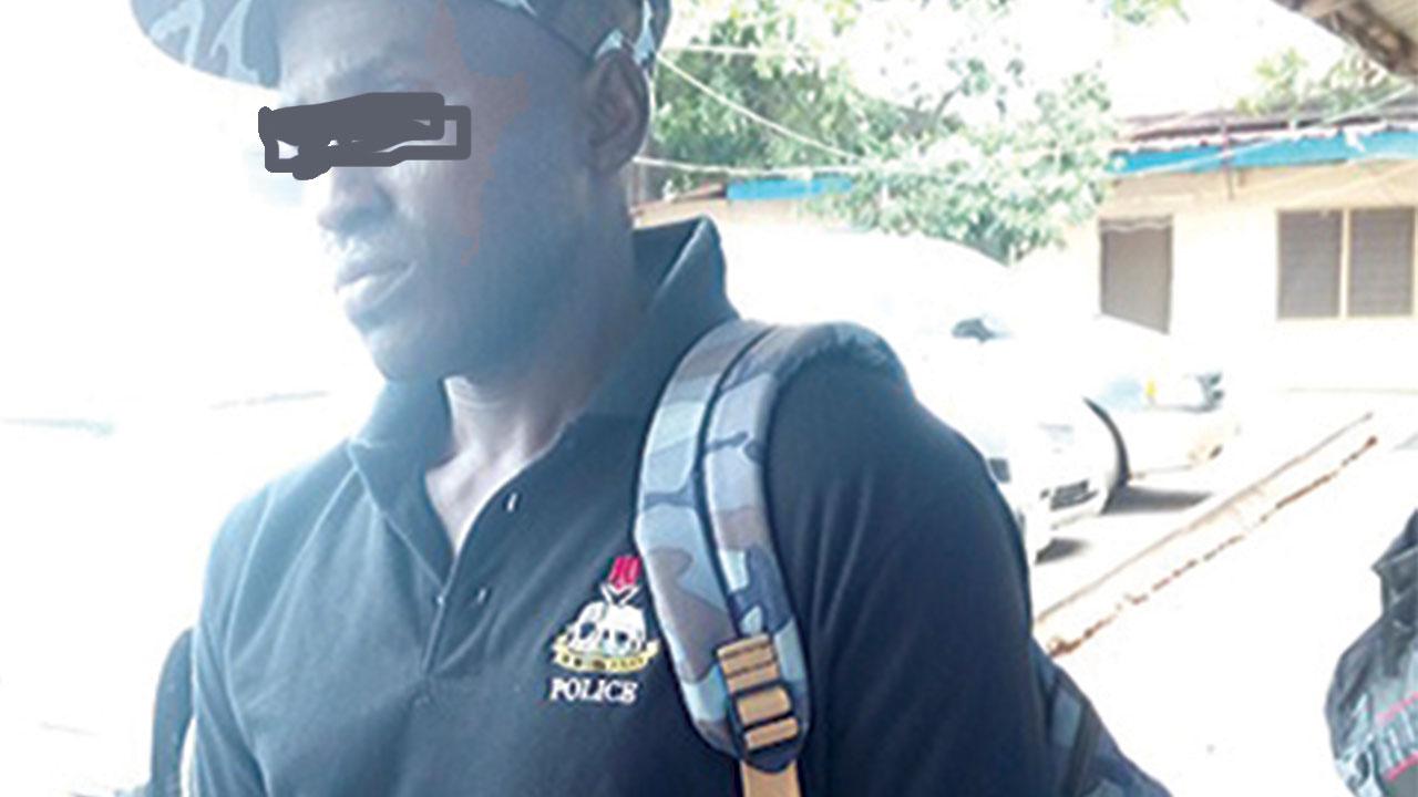 Fake-policeman