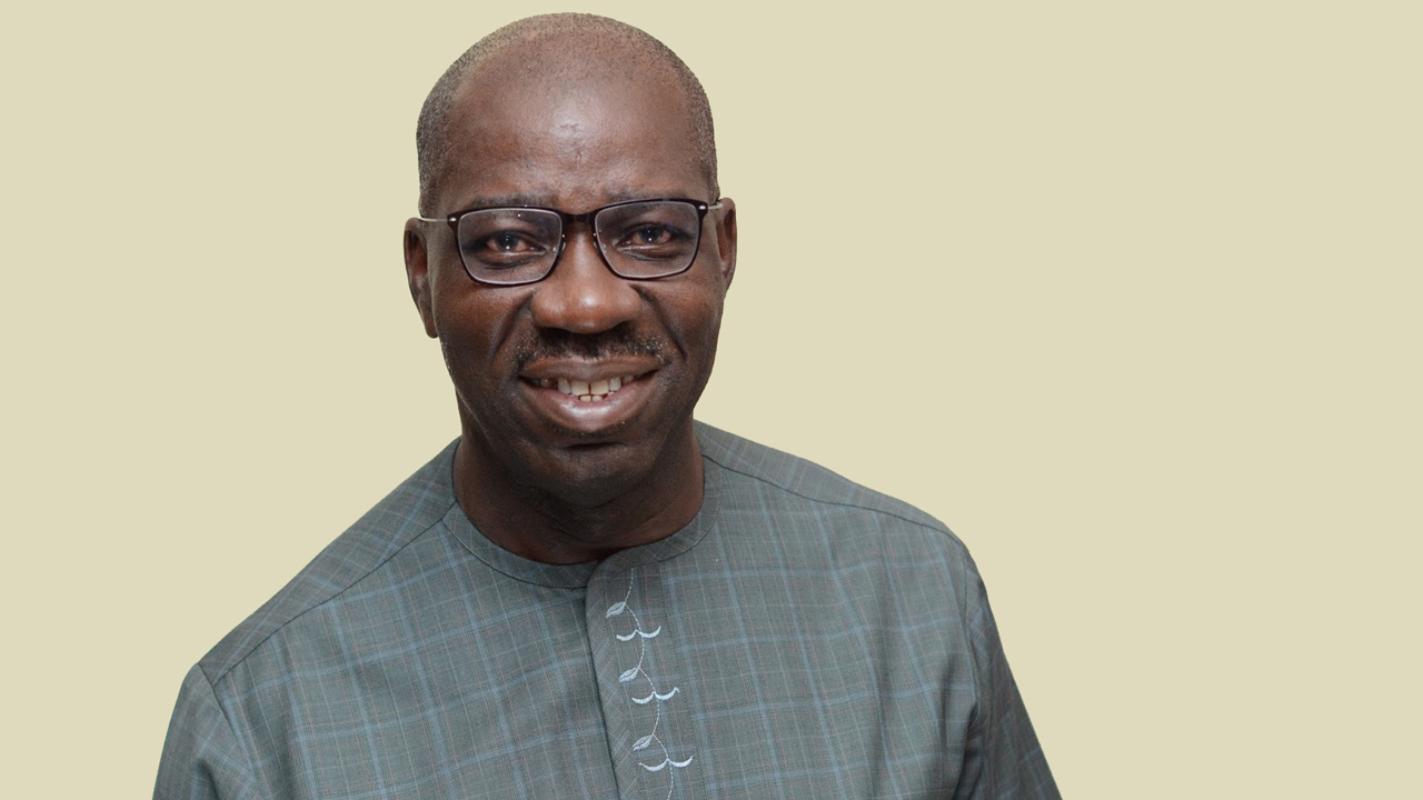 The All Progressives Congress' governorship candidate in Edo State, Godwin Obaseki