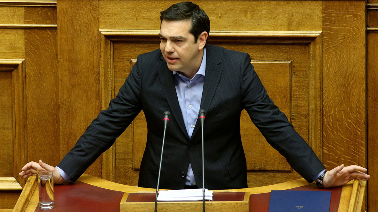 Greek Prime Minister Alexis Tsipras has defended the reform, claiming it aimed for a 'sustainable' system. PHOTO: EPA