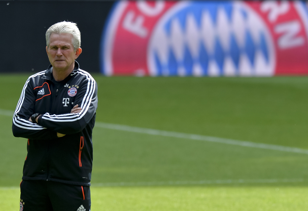 Jupp Heynckes wonders if he should get more credit after winning the Bundesliga and reaching the Champions League final. Photograph: Günter Schiffmann/AFP/ ...