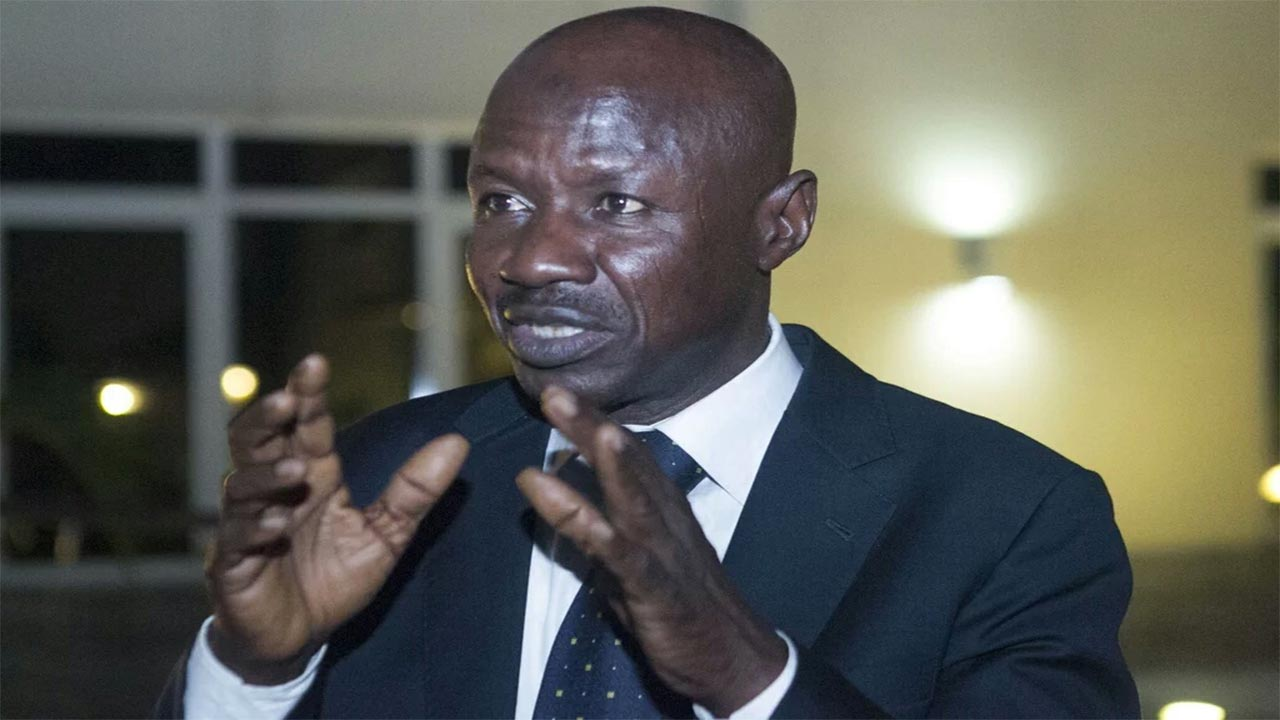 EFCC chairman, Mr. Ibrahim Magu