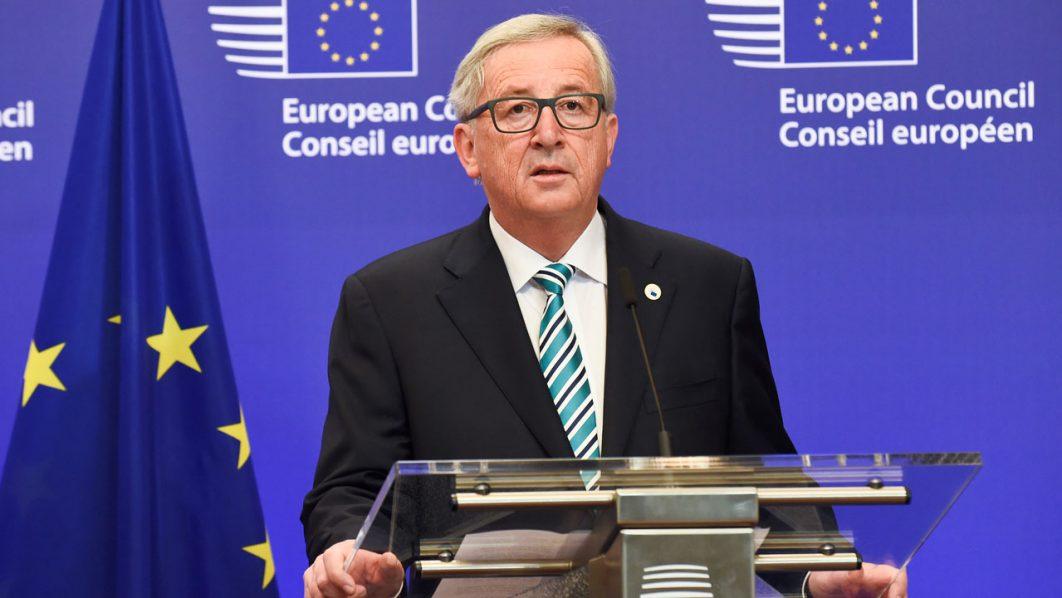 European Commission chief Jean-Claude Juncker. / AFP PHOTO / JOHN THYS