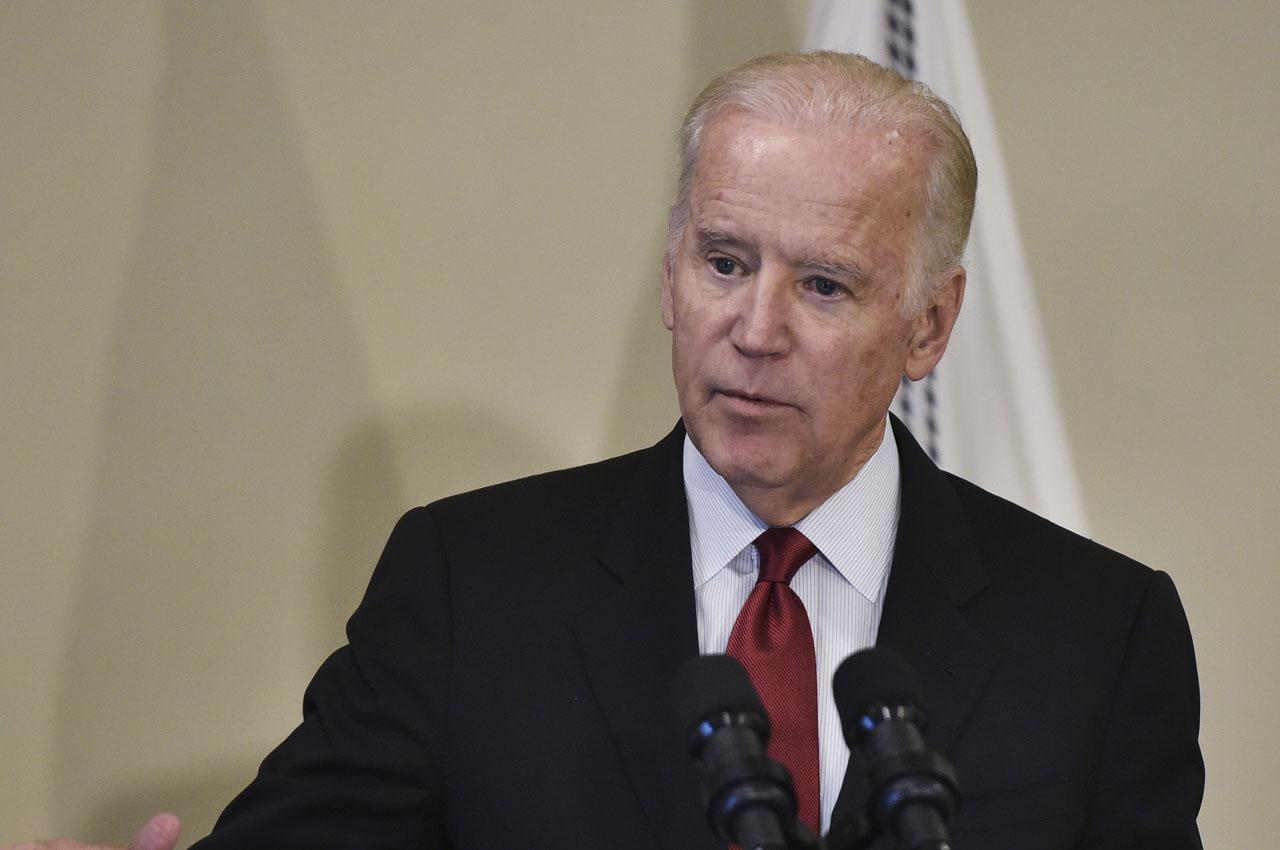 US Vice President Joe Biden . / AFP PHOTO / Mandel NGAN