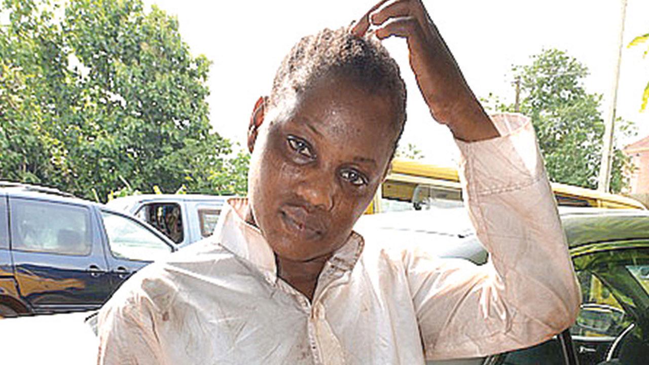 The suspect, Adebisi Babatunde