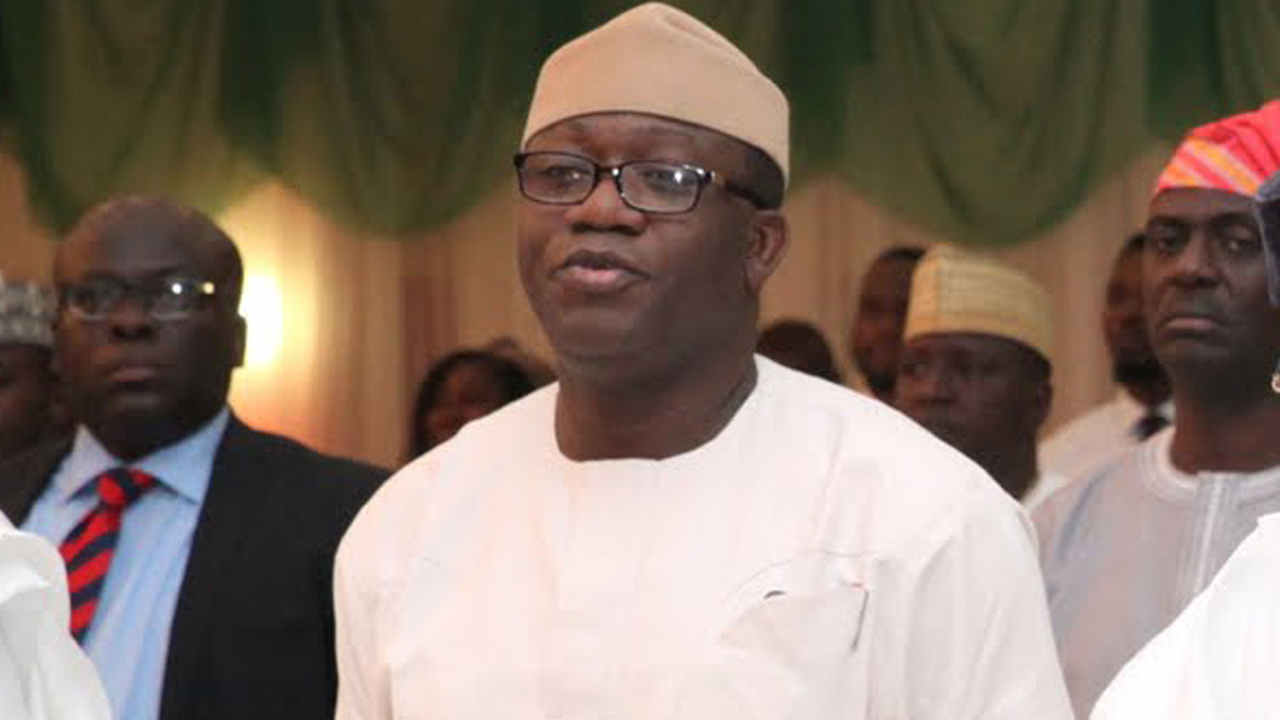 The Minister of Solid Minerals Development, Kayode Fayemi