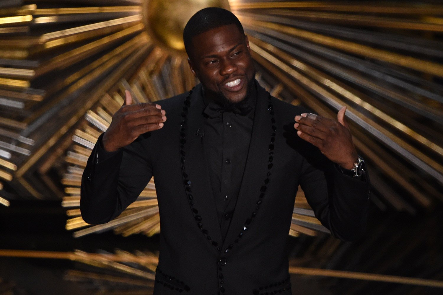 Kevin Hart PHOTO: AFP/Getty Images