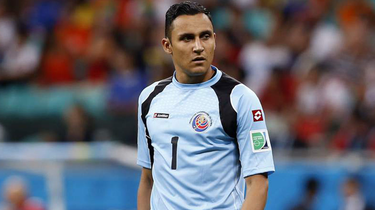 Keylor Navas PHOTO:AFP