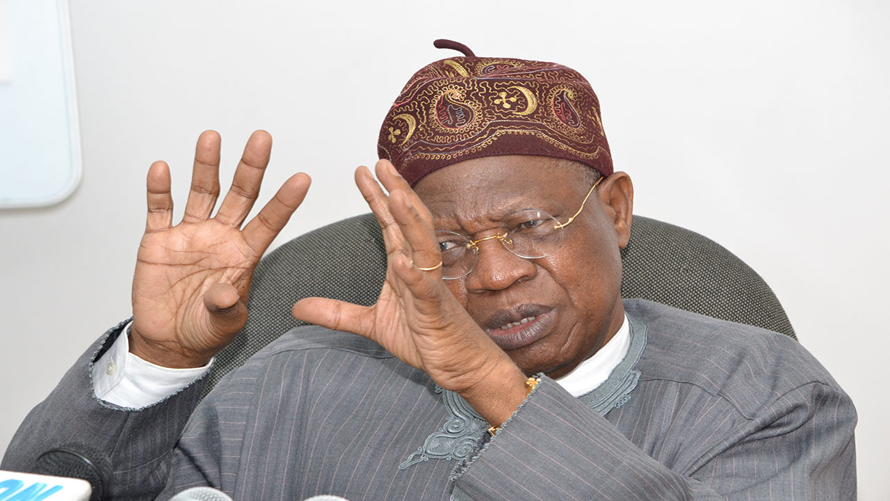 Minister of Information, Alhaji Lai Mohammed, PHOTO: GABRIEL IKHAHON