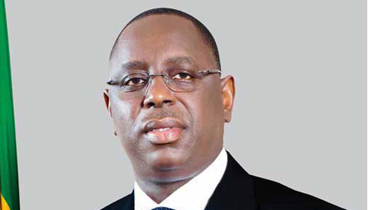 The new ECOWAS Chairman, Senegal President, Macky Sall.