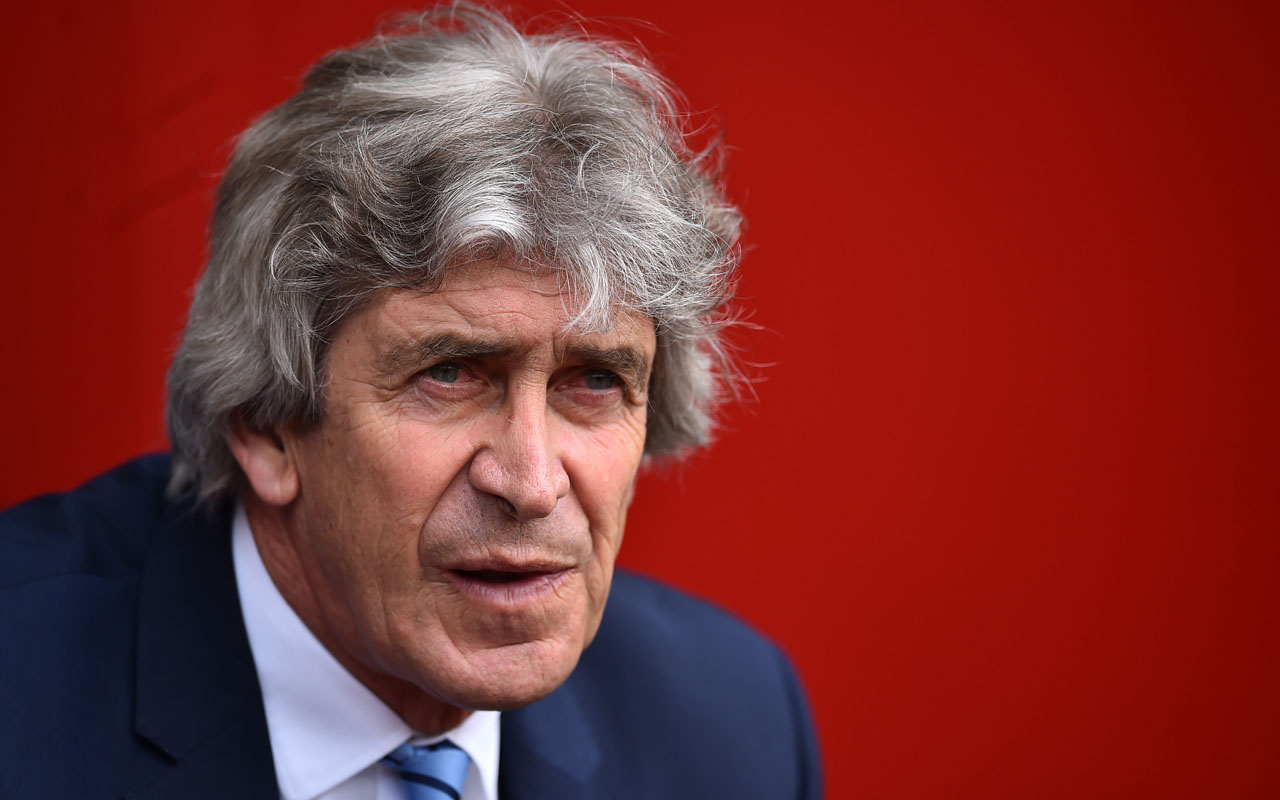 Manchester City's Chilean manager Manuel Pellegrini looks on during the English Premier League football match between Southampton and Manchester City at St Mary's Stadium in Southampton, southern England on May 1, 2016. / AFP PHOTO / BEN STANSALL / RESTRICTED TO EDITORIAL USE. No use with unauthorized audio, video, data, fixture lists, club/league logos or 'live' services. Online in-match use limited to 75 images, no video emulation. No use in betting, games or single club/league/player publications.  /