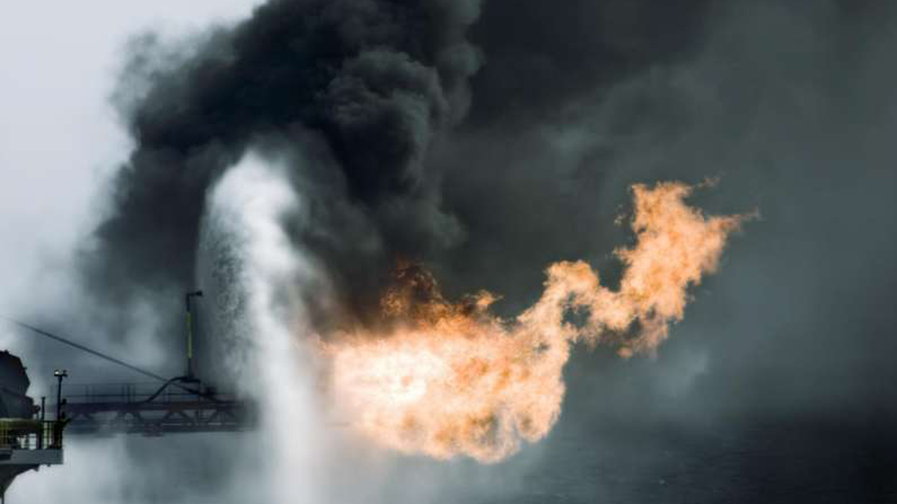 Nickel and vanadium, metals released by burning oil fuel may be damaging to developing lungs of children. PHOTO: ATS