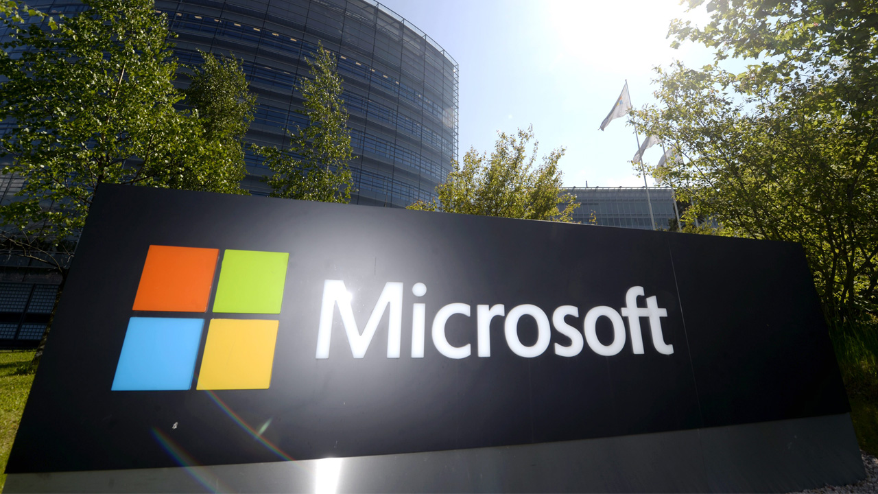 This picture taken on on May 25, 2016 shows Microsoft's Finnish headquarters in Espoo. AFP PHOTO / Lehtikuva / Vesa Moilanen / Finland OUT
