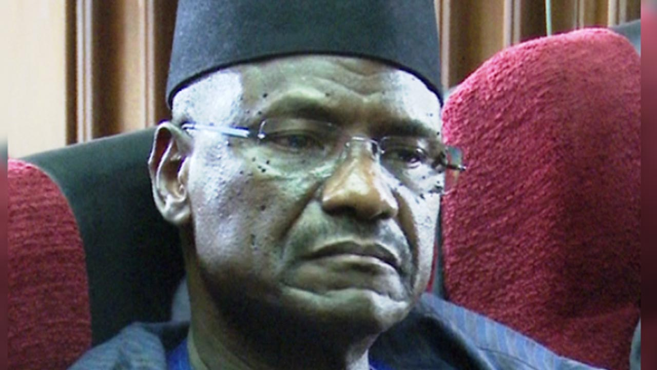 Former Chief of Air Staff, Mohammed Dikko Umar