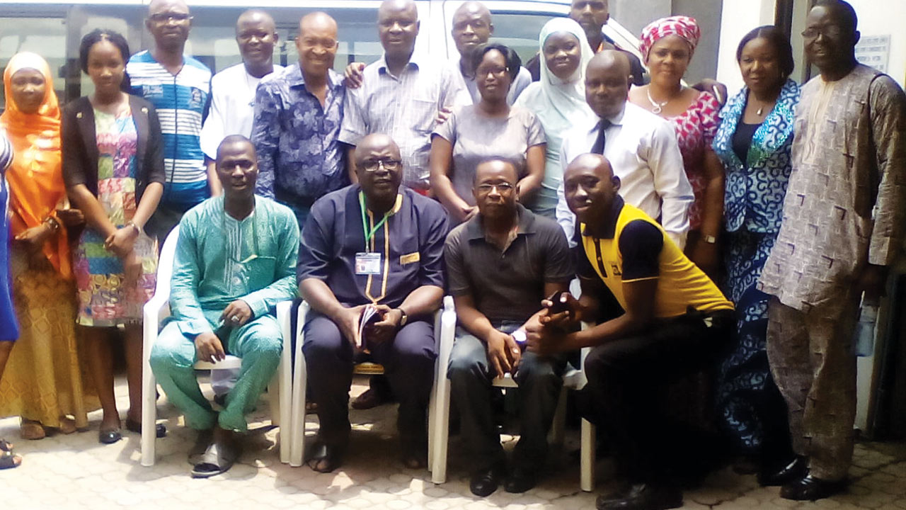 Participants at the new media awareness workshop, held recently at the NUJ office, Alausa Lagos.
