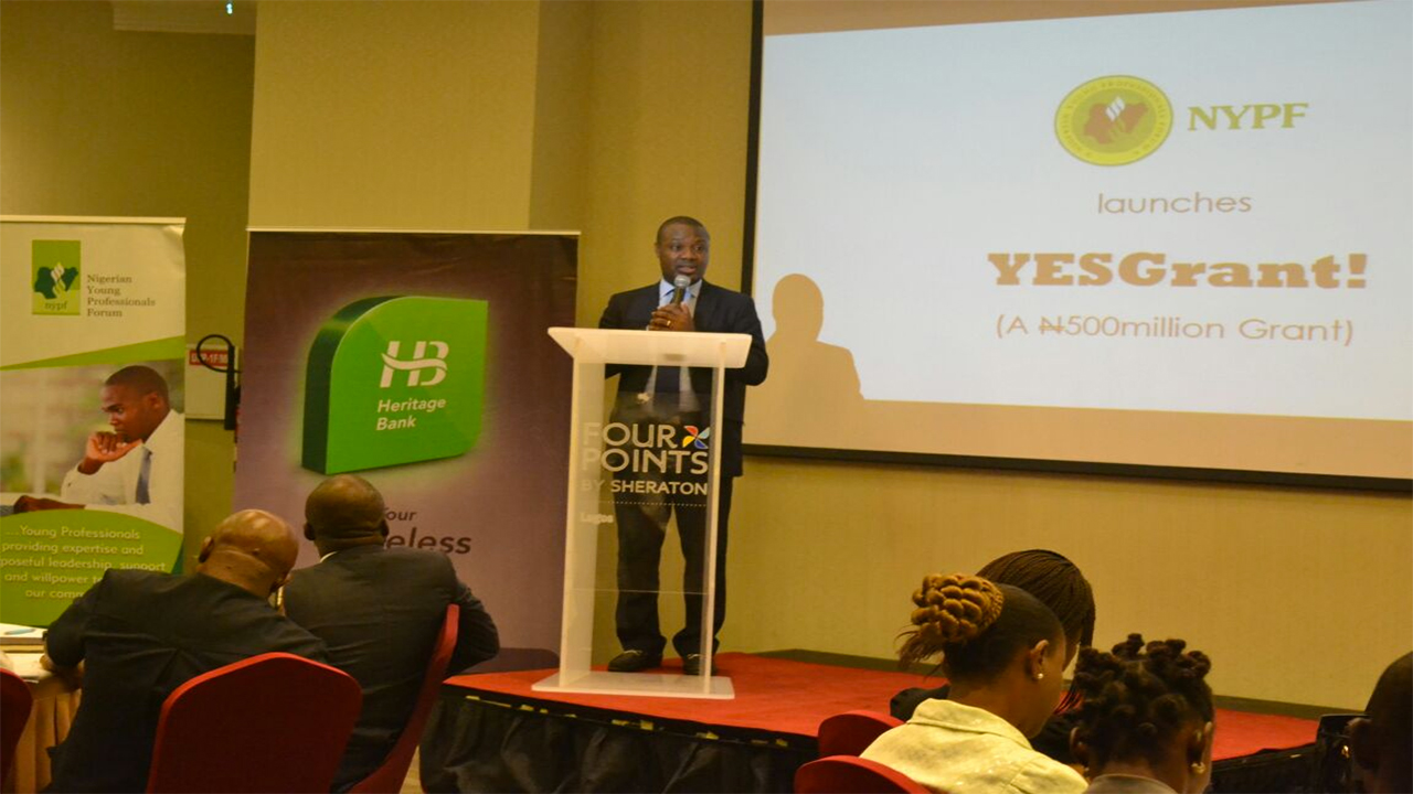 The Nigerian Young Professionals Forum (NYPF) in partnership with Heritage Bank has inaugurated a grant scheme to support young Nigerian students and entrepreneurs.