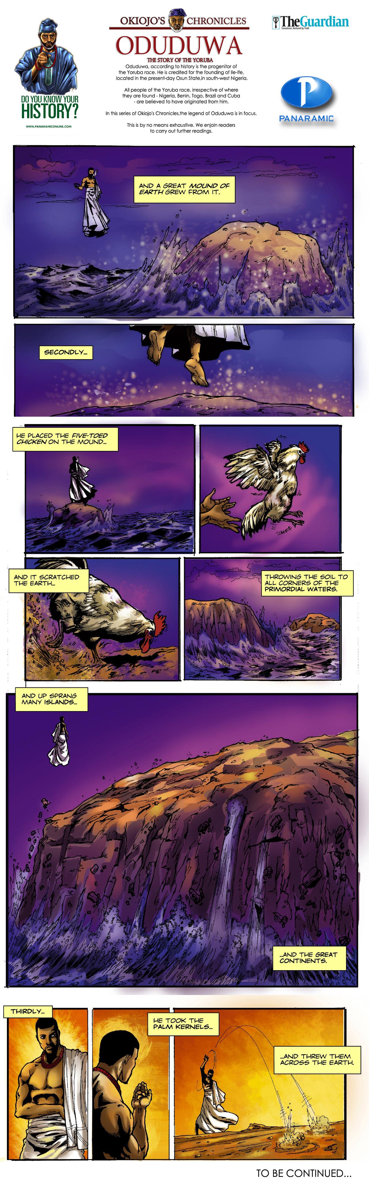 Okiojo's Chronicles - Oduduwa 6