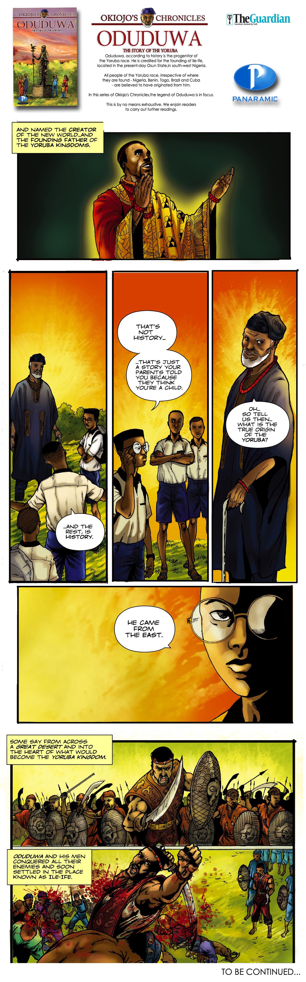 Okiojo's Chronicles - Oduduwa 9