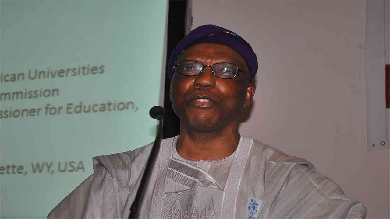 NUC's Executive Secretary, Prof. Julius Okojie