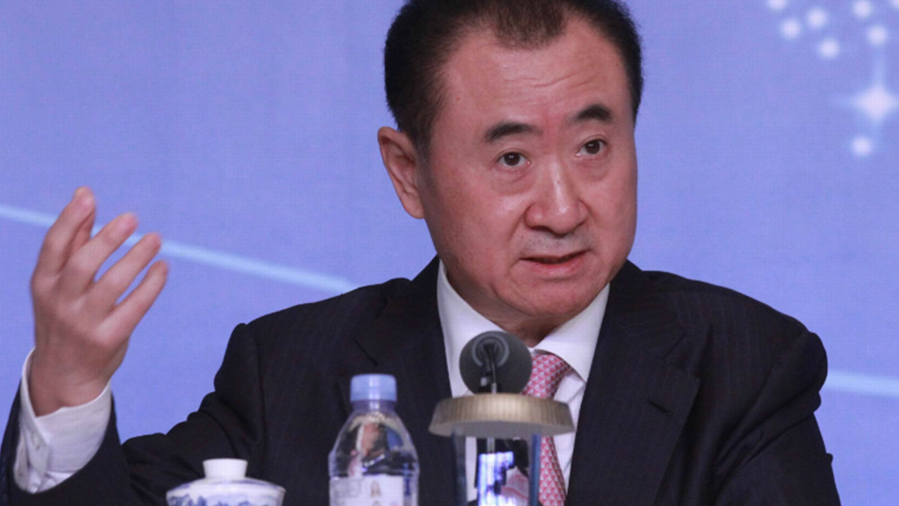 The Chinese conglomerate Wanda on Saturday opened its first theme park, with its billionaire boss declaring war on Disney weeks before the American entertainment giant launches a similar attraction in Shanghai.