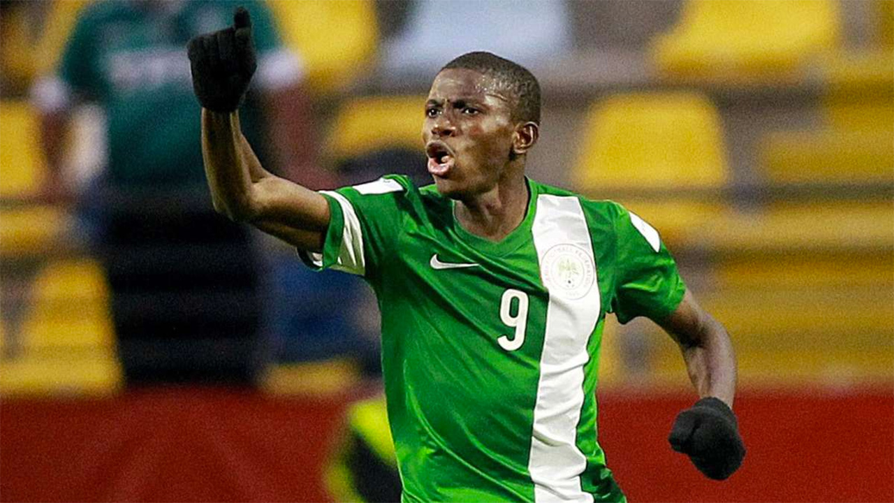 Flying Eagles' striker, Victor Osimhen