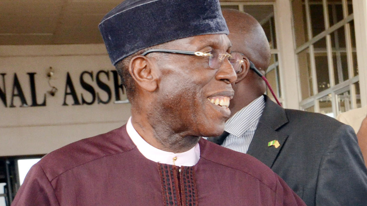 The Minister of Agriculture and Rural Development, Audu Ogbeh