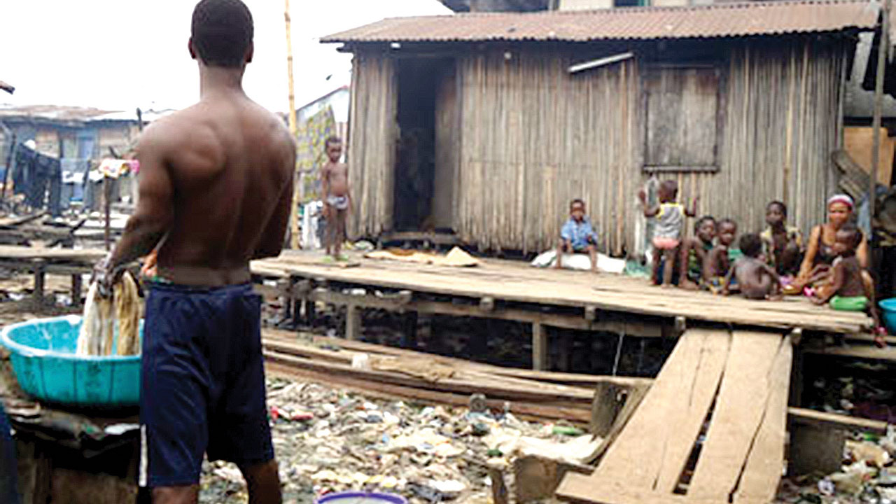 A slum in Lagos PHOTO: google