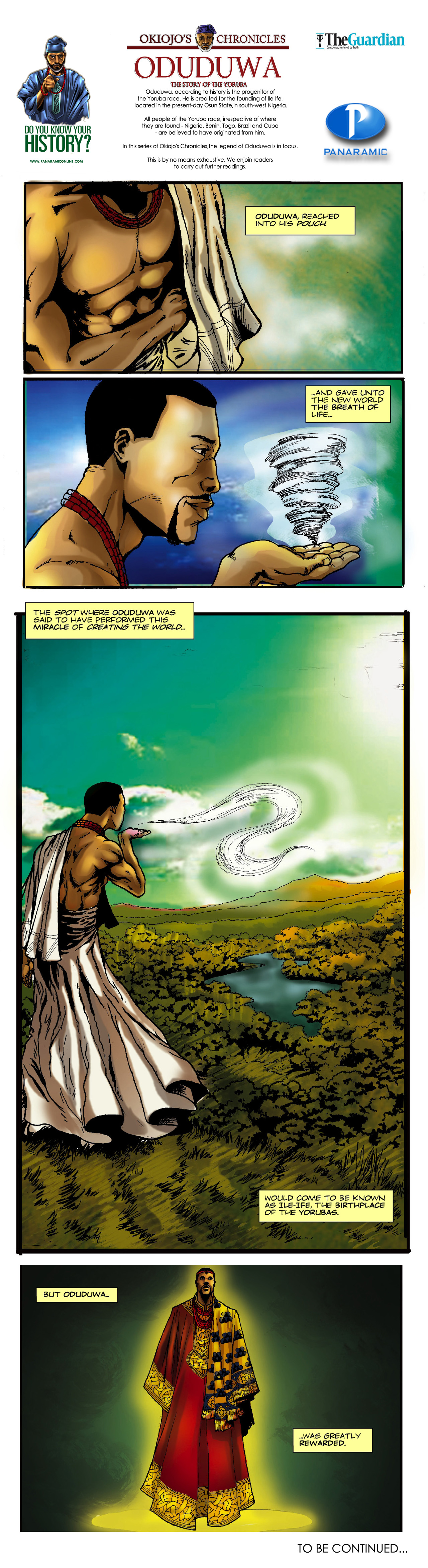 Panaramic's - Okiojo's Chronicles Oduduwa 8