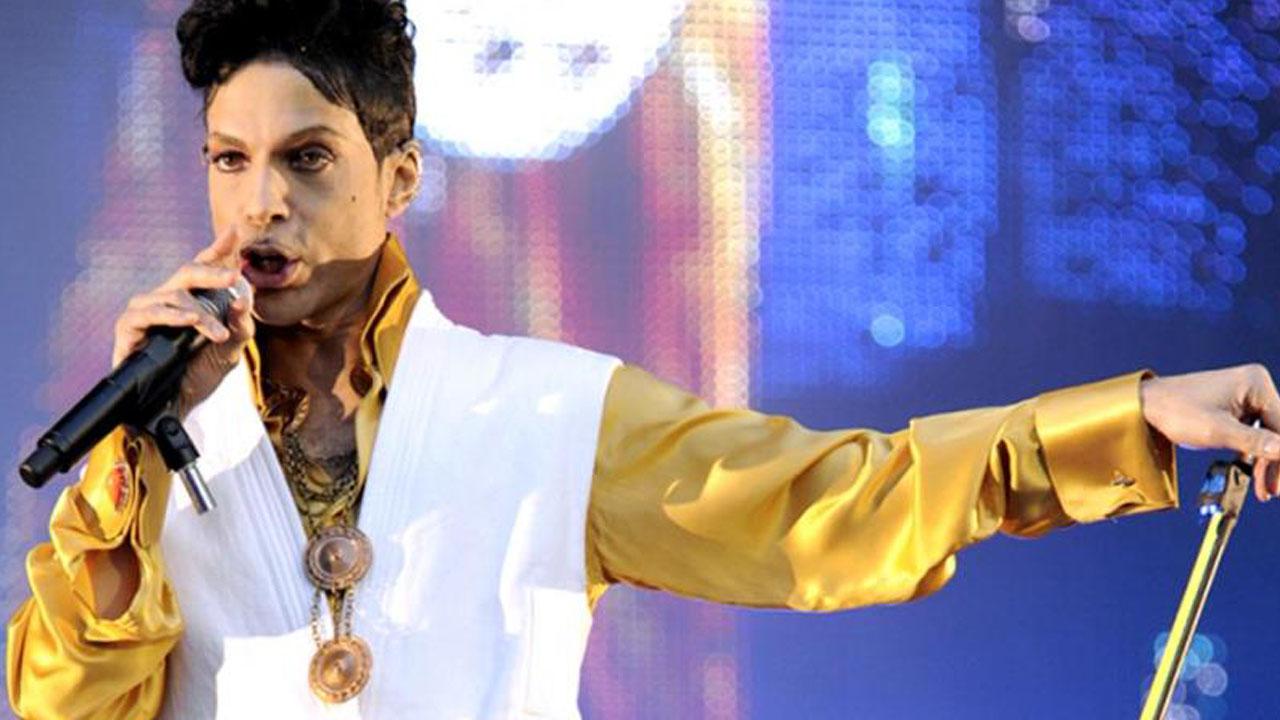 Prince. PHOTO:AFP
