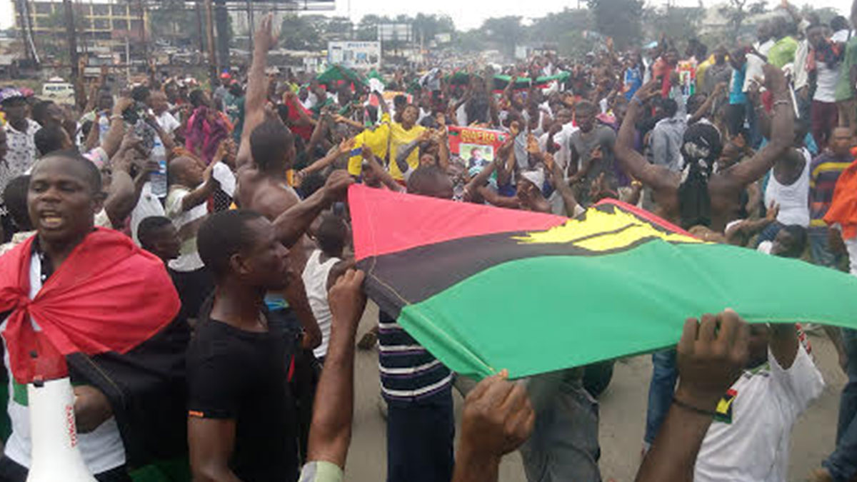 Nigeria news on biafra