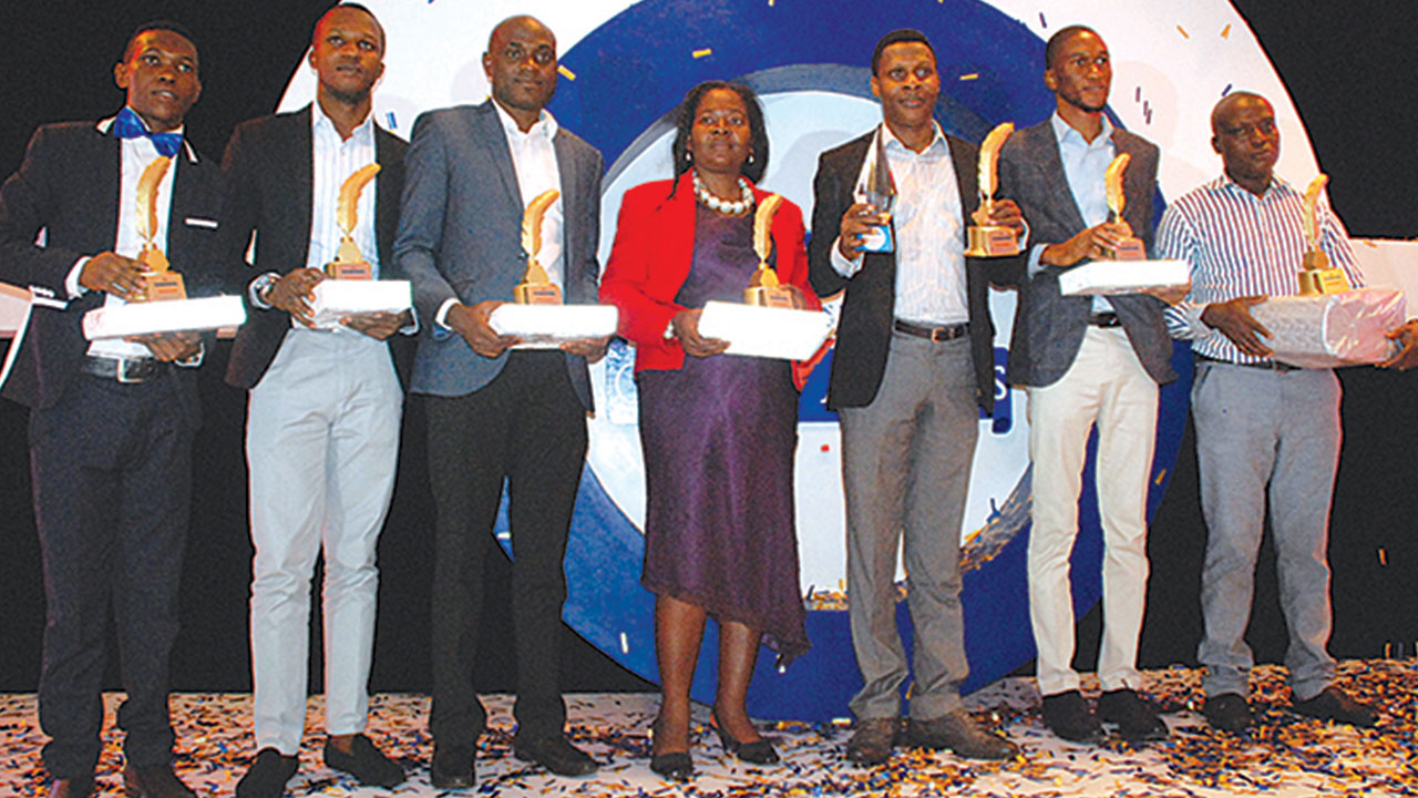 Winners at the award presentation ceremony last Friday in Lagos