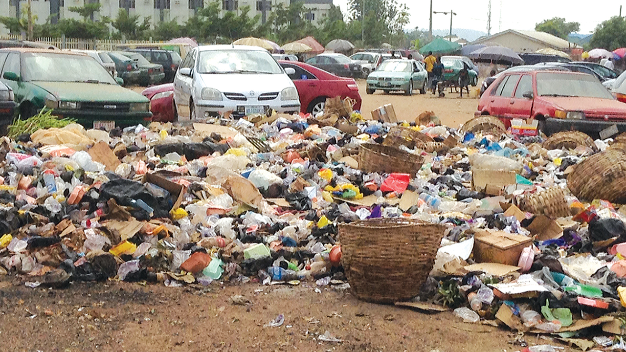 Refuse dump. PHOTO: ITUNU AJAYI
