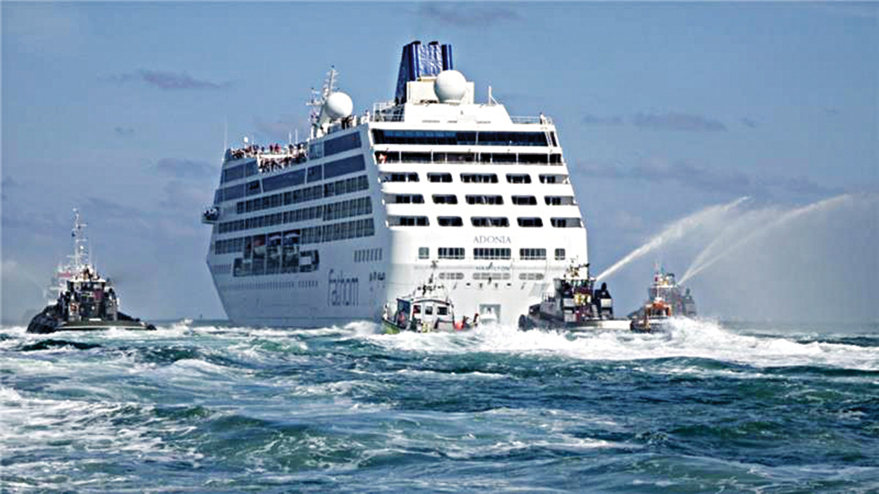 The U.S. cruise ships could pump tens of millions of dollars into Cuban state coffers PHOTO: EPA